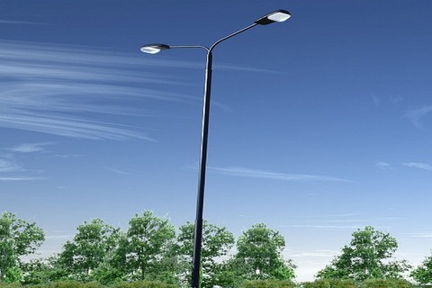 Прожектор светодиодный уличный для баннеров